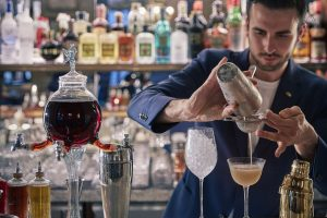 Luca De Filippis Bar Manager Mandarin Oriental