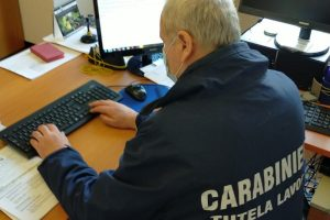 carabinieri nucleo lavoro