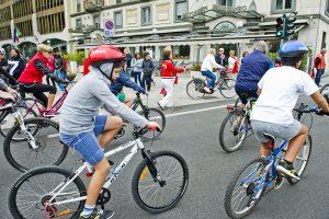 Como piazza Cavour partenza della 24° edizione di