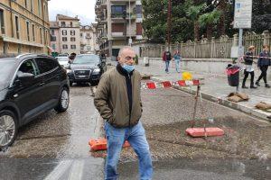 L'assessore alla Viabilità, Pierangelo Gervasoni
