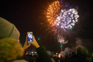 Como spettacolo fuochi d'artificio per Capodanno, Città dei Balocchi