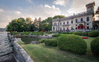 Cernobbio Villa Erba serata con sfilata GUESS