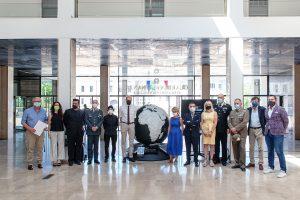 Como palazzo Terragni Fondazione Volta presenta opera in collaborazione con We Planet,