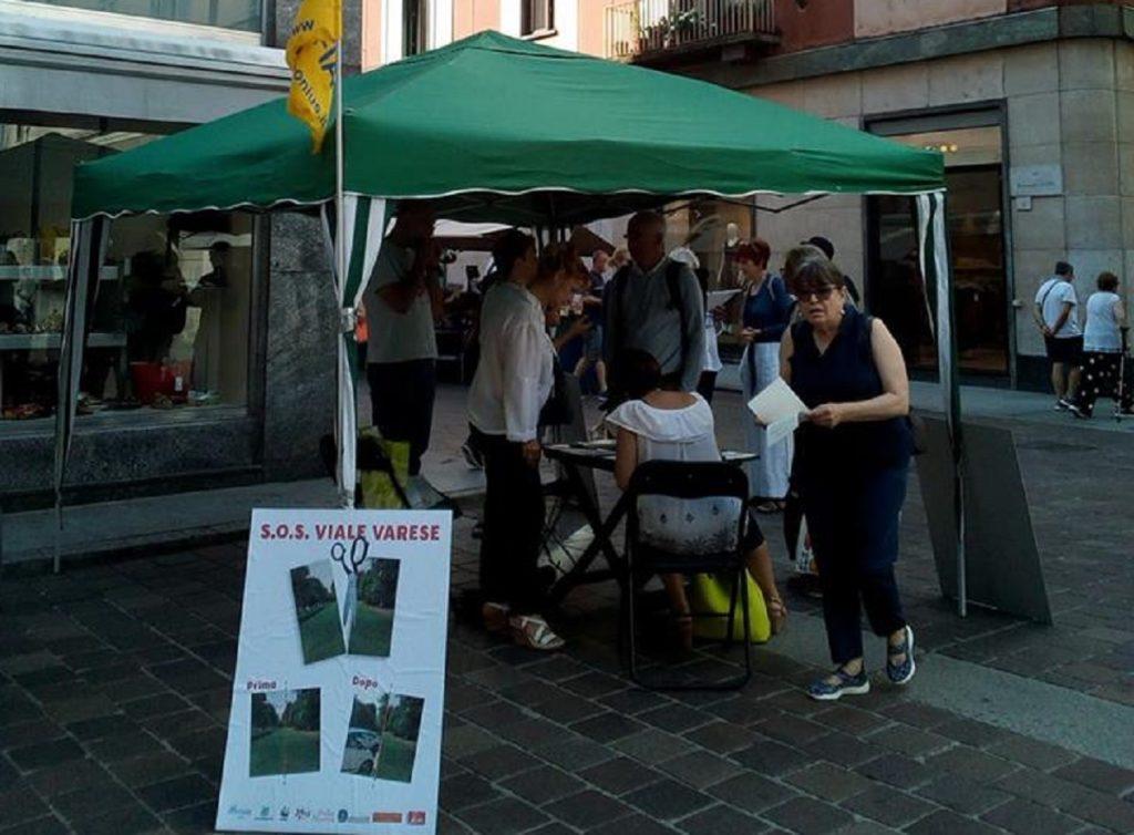 Ufficio Del Verde Varese : Viale varese immagine shock di residenti e legambiente: u201cdopo i